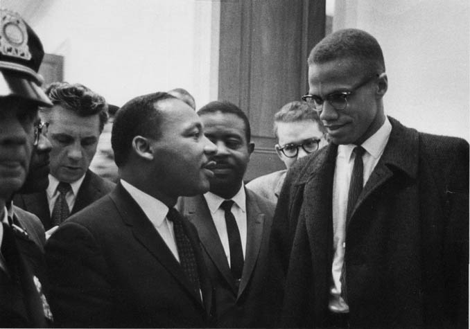 a comparison of the visions of martin luther king jr and malcolm x Martin luther king jr 's childhood and immature maturity were exemplified by his work within the system accomplishing prosperity through instruction and thought non through the violent battle for being like in the instance of malcolm x.
