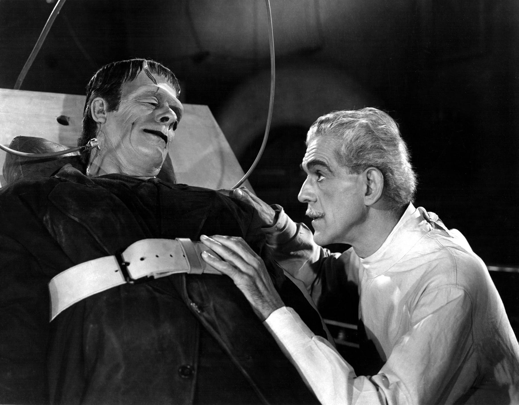 "From ""the house of frankenstein"" – glenn strange as the monster"