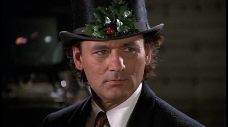 Bill Murray Scrooged