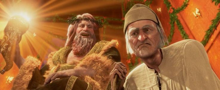 Carrey in A Christmas Carol