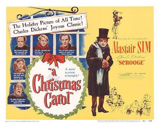 Christmas Carol 1951 Poster