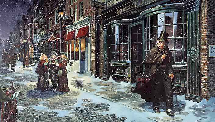 Christmas Carol Illustration