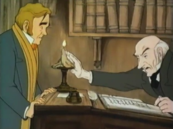 Scrooge and Fred 1971